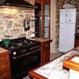 Fayence Apartment Kitchen stove