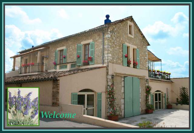 Welcome to Our Home in Fayence, France.